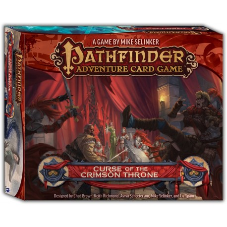 VO - Pathfinder Adventure Card Game: Curse of the Crimson Throne Adventure Path