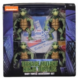 Teenage Mutant Ninja Turtles (1990 Movie) - Baby Turtles Accessory Set 10cm