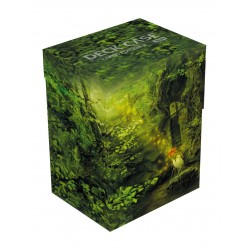 Ultimate Guard Basic Deck Case 80+ taille standard Lands Edition II Forêt