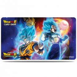 Tapis de jeu + TUBE Dragon Ball Super - Vegeta, Goku, and Broly - Ultra Pro
