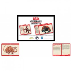 VO - D&D Monster Card Deck Levels 0-5 (195)