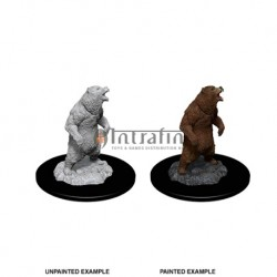 WizKids Deep Cuts Miniatures - Grizzly