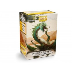 100 Protèges cartes Dragon Shield Illustrées Summer Dragon Standard Matte