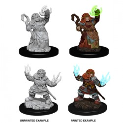 Pathfinder Battles Deep Cuts - Female Dwarf Summoner