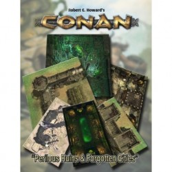Conan Perilous Ruins & Dead Cities Geomorphic Tiles Set (EN)