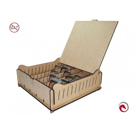 e-Raptor Trading Card Storage Big Box MDF