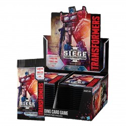 1 Boite de 30 Boosters War of Cybertron Siege - Transformers TCG