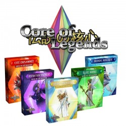 Collection des 5 Decks de Découverte - CORE OF LEGENDS