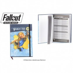 FALLOUT WASTELAND WARFARE - VAULT TEC NOTEBOOK
