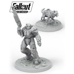 VO - FALLOUT WASTELAND WARFARE - X-01 SURVIVOR & DOGMEAT