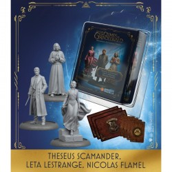VO -THESEUS SCAMANDER, LETA LESTRANGE, NICOLAS FLAMEL - Harry Potter Adventure Game