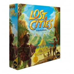 LOST CITIES : LE JEU DE PLATEAU