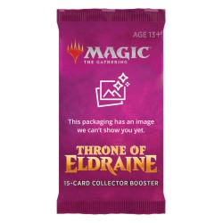 VO 1 Booster COLLECTOR Throne of Eldraine - Magic The Gathering