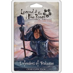 VO - Defenders of Rokugan - Crab Clan Pack - Legend of the five Rins LCG
