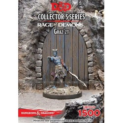 D&D Collectors Series Miniatures miniature à peindre Out of the Abyss Demon Lord Graz'zt Jeux de figurines Dungeons & Dragons