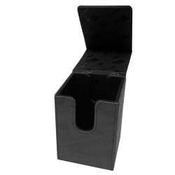 Suede Collection Alcove Flip Deck Box - Jet - Ultra Pro