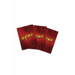Sachet de 40 sleeves Logo Keyforge - Gamegenic - Red