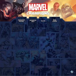 Tapis de Jeu 1 à 4 Joueurs Marvel Champions: The Card Game
