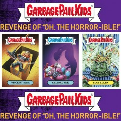 Collection Complète SET A the Revenge Of the horror-ible (Garbage Pail Kids) - Les Crados 2019