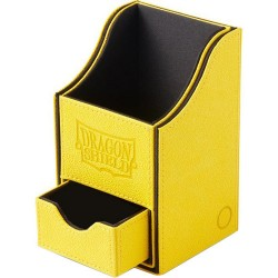 Deck Box 100 Cartes Dragon Shield Nest Box + Yellow/Black