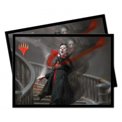 100 Protège-Cartes Magic The Gathering - Commander 2019 V1