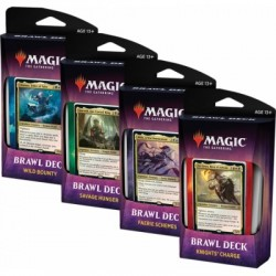 VF - Collection des 4 BRAWL Deck LE TRÔNE D'ELDRAINE - Throne of Eldraine - Magic The Gathering