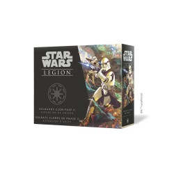 Phase II Clone Troopers Unit Expansion Star Wars : Légion