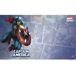 Tapis de Jeu Captain America Marvel Champions: The Card Game