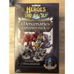 Heroes of Land, Air & Sea: Mercenary Pack 2 - EN