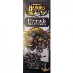 Heroes of Land, Air & Sea: Nomads Expansion - EN