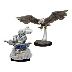WizKids Wardlings assortiment packs 2 miniatures Wind Orc & Vulture