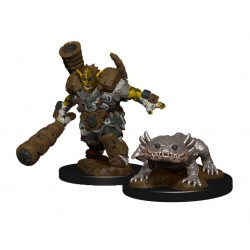 WizKids Wardlings assortiment packs 2 miniatures Mud Orc & Mud Puppy