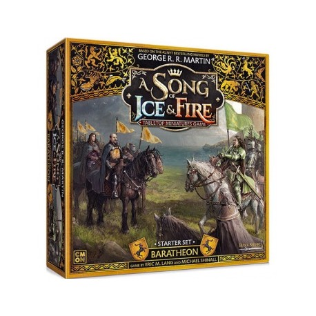 VO - Baratheon Starter Set: A Song of Ice and Fire Exp