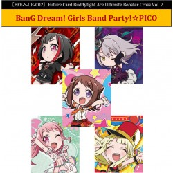 Boîte de 10 Ultimate Booster Cross Vol.2 BanG Dream! Girls Band Party! PICO - Future Card Buddyfight Ace
