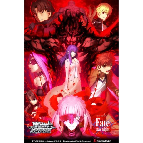 PRECO 13/12/19 Boîte de 20 boosters Fate Stay Night Heaven's Feel - Weiss Schwarz