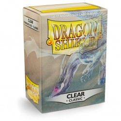 LOT de 10 Paquets de 100 Protèges cartes Dragon Shield - Clear