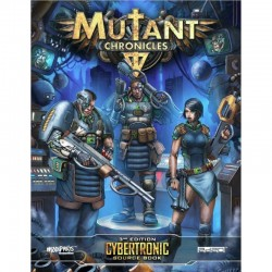 Mutant Chronicles Cybertronic Source Book
