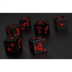 Mutant Chronicles D6 Symmetry Combat Dice Set