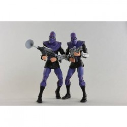 "Cartoon Series 2 Foot Soldier ""Army Builder"" 2 pack Action Figures 18cm - Teenage Mutant Ninja Turtles"