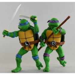 Cartoon Series 2 Leonardo and Donatello 2 pack Action Figures 18cm - Teenage Mutant Ninja Turtles