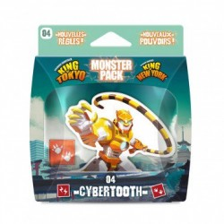 IELLO - KING OF TOKYO - MONSTER PACK : CYBERTOOTH