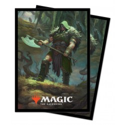 NOËL 2020 100 Protèges-Cartes Magic The Gathering - Garruk, Cursed Huntsman