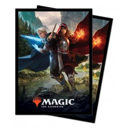 100 Protège-Cartes Magic The Gathering - Royal Scions
