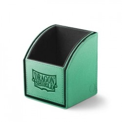 Deck Box 100 Cartes Dragon Shield Nest Box Green/Black