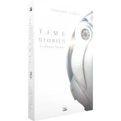 TIME STORIES : LE DOSSIER HEIDEN (LIVRE - ROMAN)