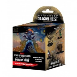 Brick de 8 Boosters Waterdeep Dragon Heist - D&D Icons of the Realms