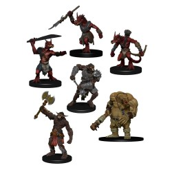 D&D Icons of the Realms pack 6 miniatures Monster Pack : Cave Defenders