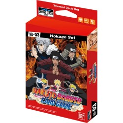 Expansion Set 03 - Naruto Card Game - Chrono Clash System