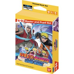 Expansion Set 04 - Naruto Card Game - Chrono Clash System