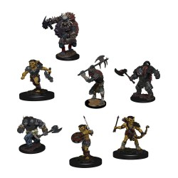 D&D Icons of the Realms pack 6 miniatures Monster Pack: Village Raiders